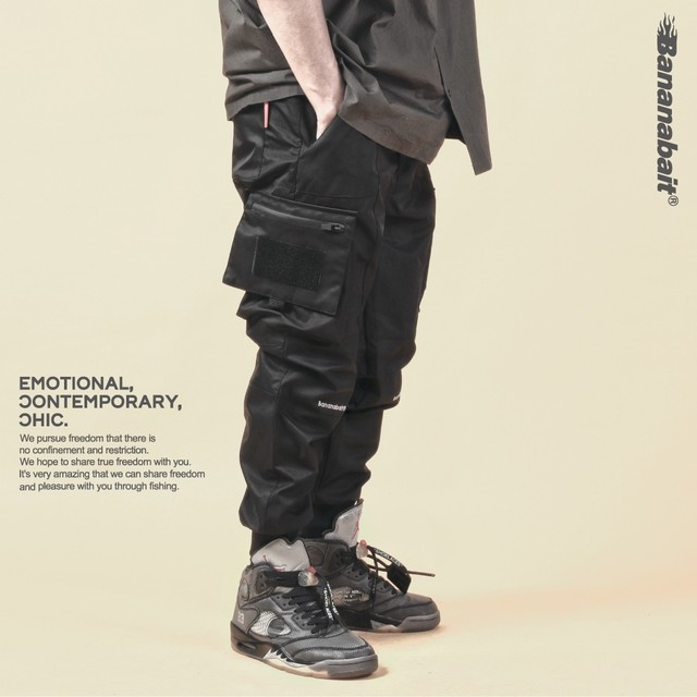 【Banana Bait】TACTICS 3L V.2 JOGGER PANTS / Black