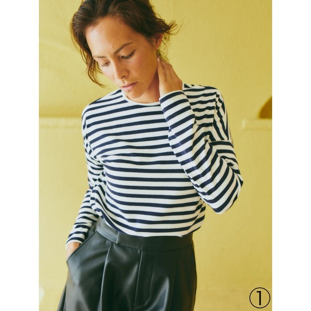 STRIPE TICA LONG SLEEVE TNH20200-40