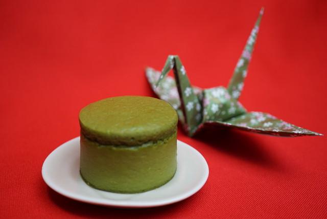 宇治抹茶スフレチーズ 1箱(10コ入り) - Uji Matcha Soufflé Cheesecake(10 pieces)