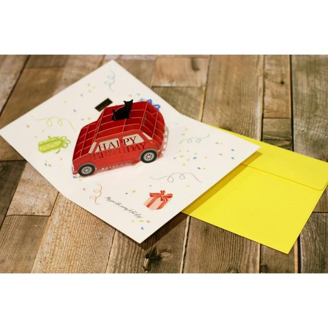 メッセージカード封筒&レターセット【黒猫/お誕生日おめでとう】/浜松雑貨屋 C0pernicus