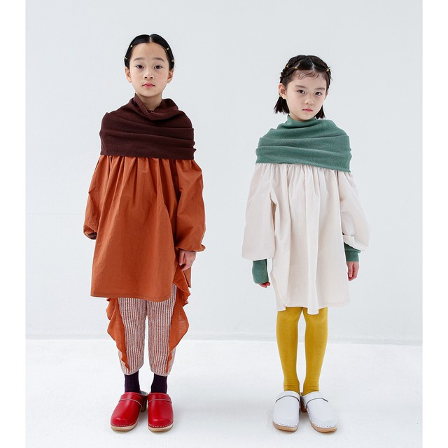 folk made warm neck pullover M/L  F20AW-012