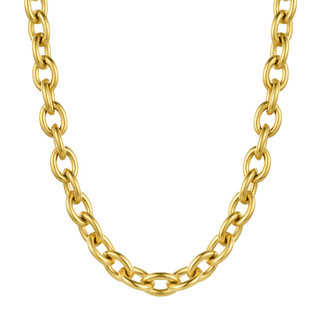 wide chain necklace