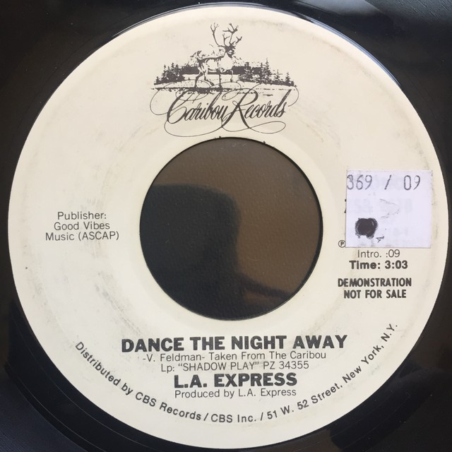 L.A. Express – Dance The Night Away