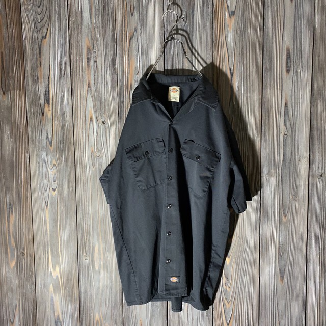 [Dickies]one point work shirt