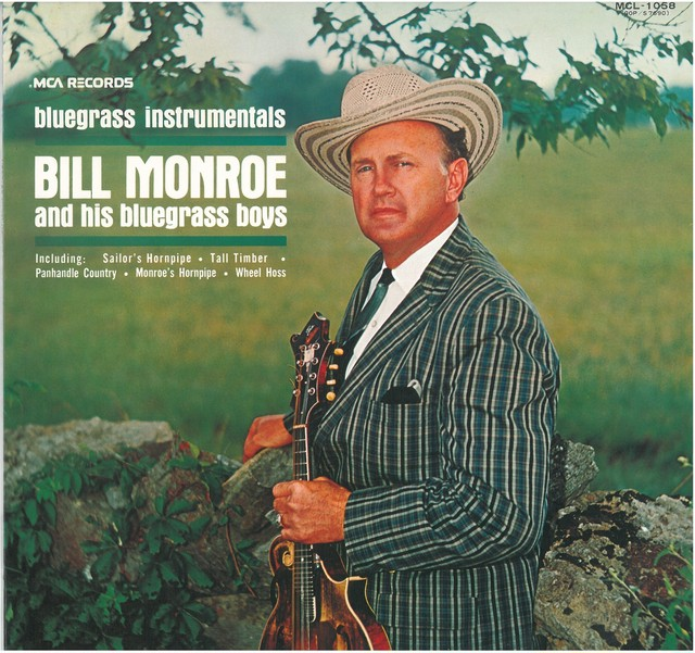 BILL MONROE AND HIS BLUE GRASS BOYS / BLUEGRASS INSTRUMENTALS (LP) 日本盤