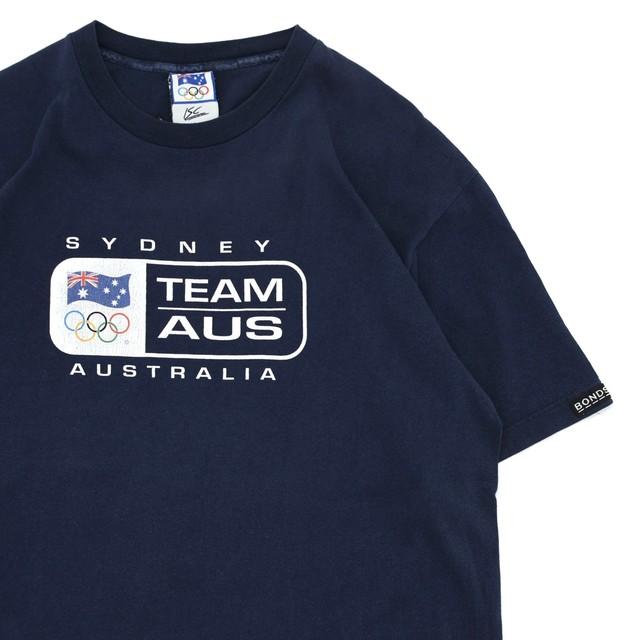 00s Sydney Olympic TEEM AUS print T-shirt by BONDS