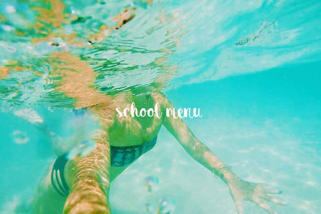 ◇Hibis◇school menu