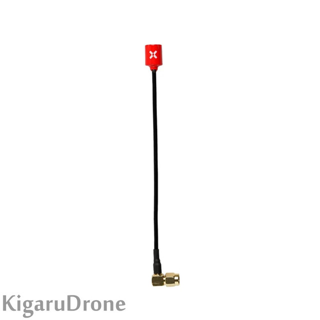 Foxeer Micro Lollipop 15cm 5.8G 2.5dBi Omni Angle RHCP FPV Antenna SMA Male Red