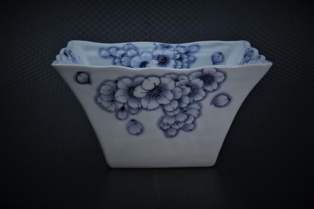 王冠桜角鉢(大)