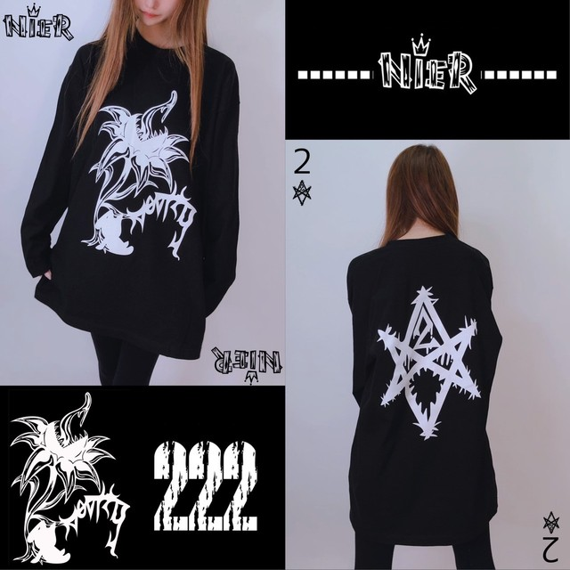 NieR ORIGINAL BLACK LONGTEE『限定デザイン品』