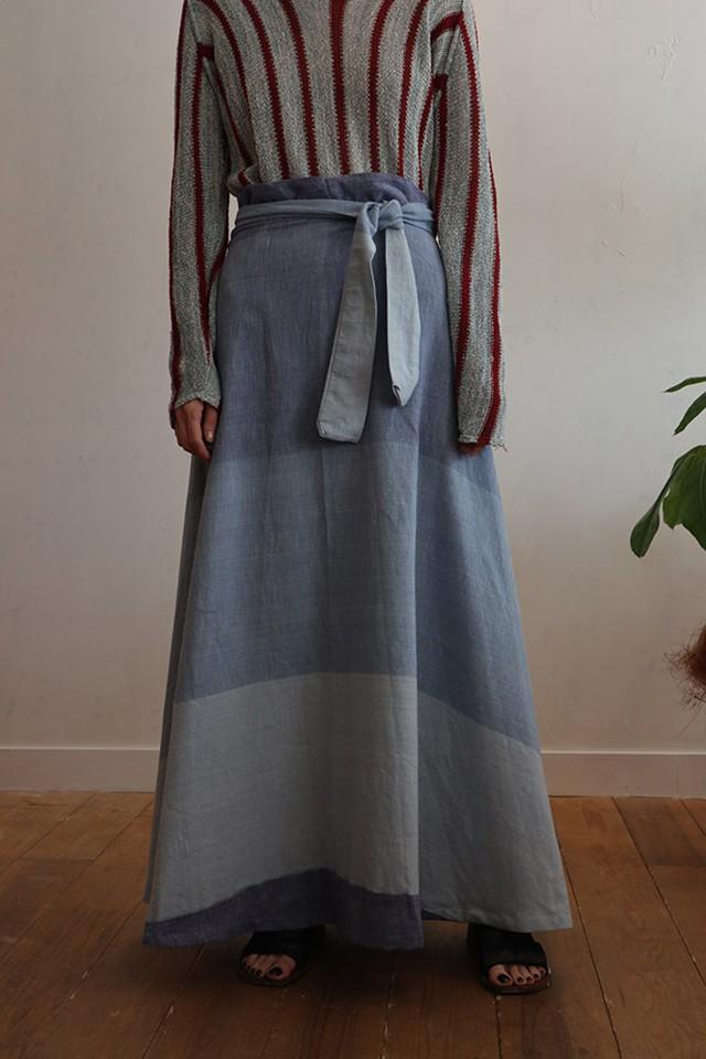 70s cotton skirt