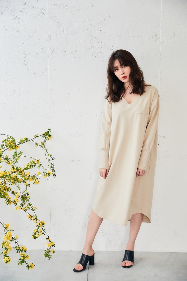 Asymmetric Cotton Dress