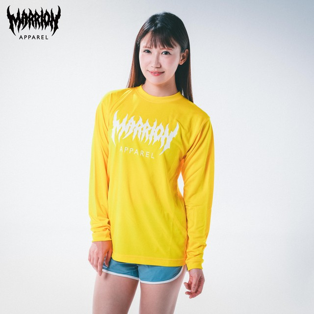 【DRY】MARRION APPAREL DRY LONGSLEEVE (yellow)