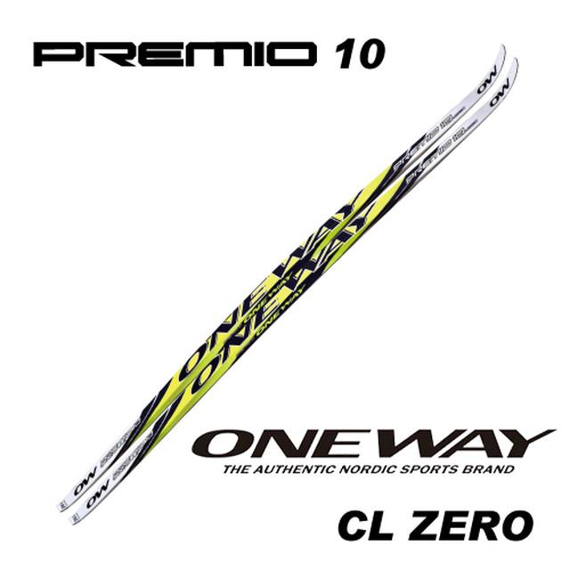 182cm~192cm ONE WAY クロスカントリースキー PREMIO 10 HD スケート/ホワイトソール レーシング用スケーティング ow40090