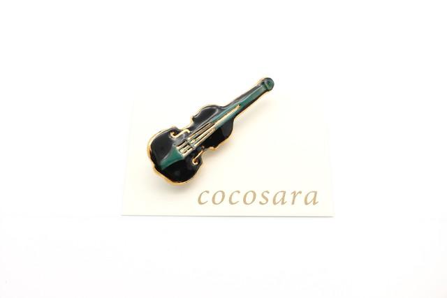有田焼ブローチ バイオリン 3