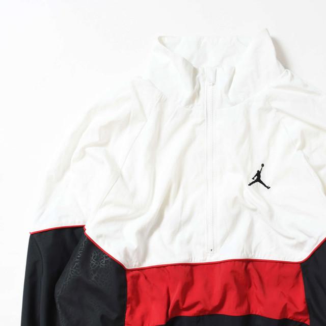 【Mサイズ】 JORDAN ジョーダン LOGO ANORAK JACKET アノラックジャケット WHITE M 400610191005