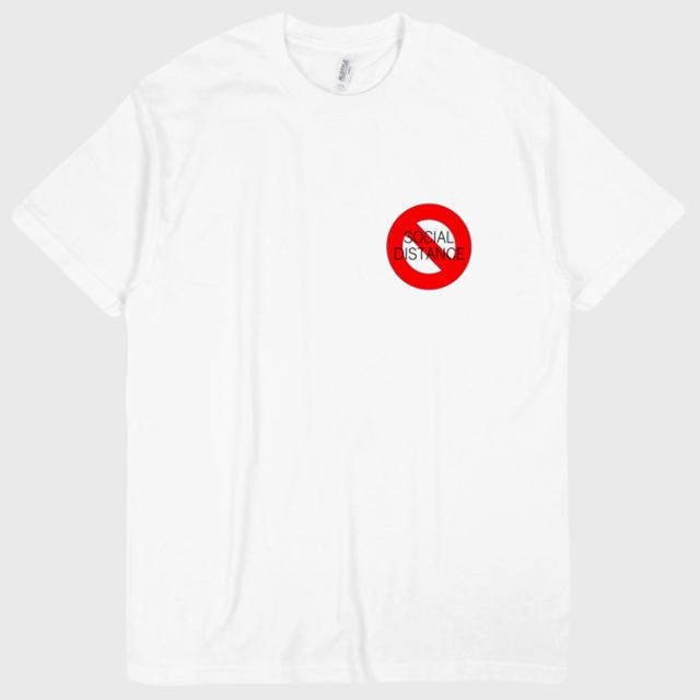 NO.9 T-shirts 「SOCIAL DISTANCE」