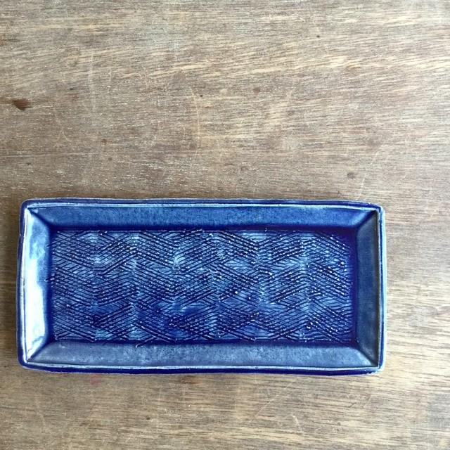 【蓮見かおり】 長角皿 Φ26㎝×12.5cm 14 - メイン画像