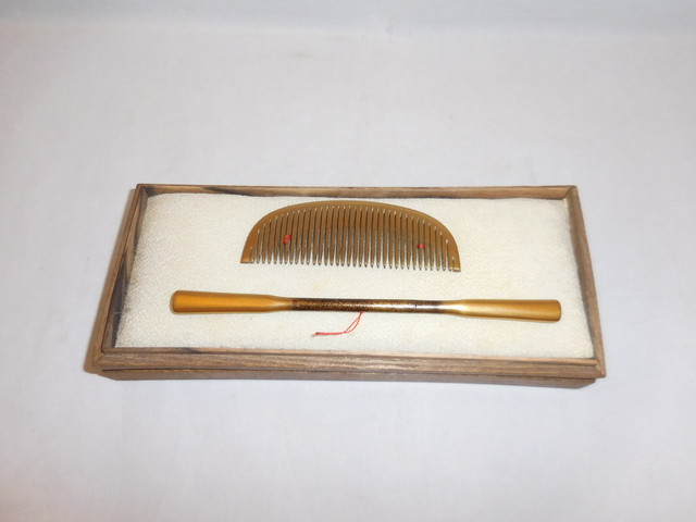 柘植の櫛 comb of boxwood(No2)