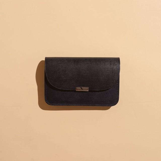 DIGAWEL / GARSON PURSE Bridle leather(NAVY)