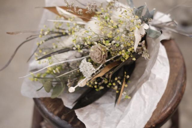le様オーダー品 母の日の花束~ナチュラルホワイト