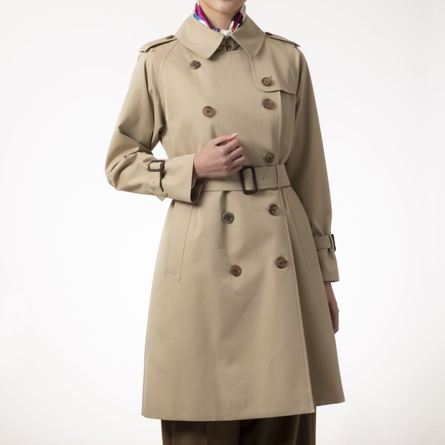 The Trench -Womens-Beige-