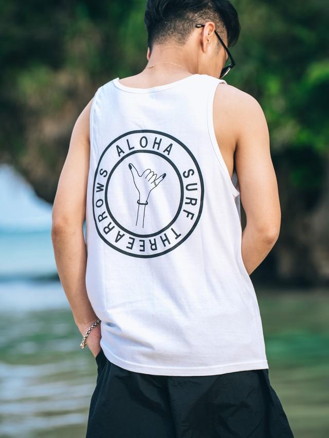 【6/2(WED)20:00 販売開始】ALOHA SURF Tanktop (white)
