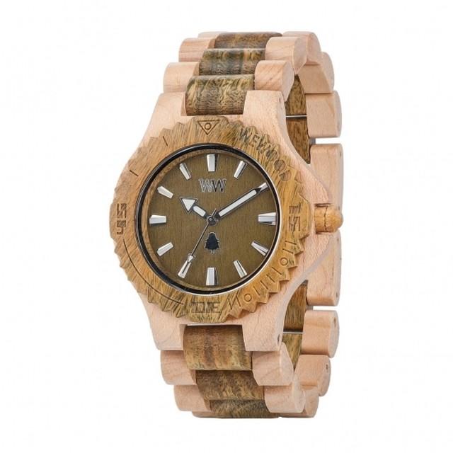 date beige army / WEWOOD 木製 腕時計