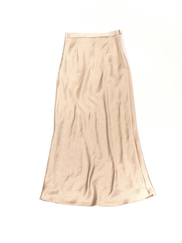 【ENLIGHTENMENT】SATIN SKIRT