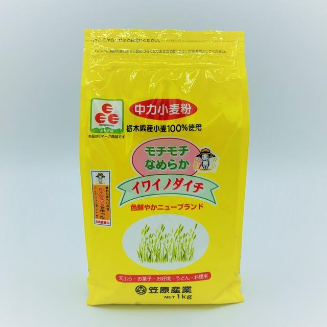 【モチモチ食感】イワイノダイチ 1kg(中力粉)