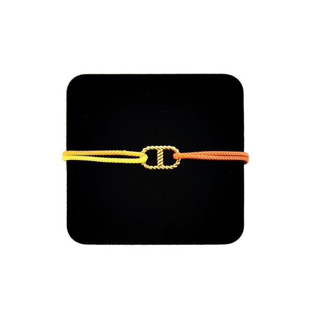 【無料ギフト包装/送料無料/限定】K18 Gold Anchor Chain Bracelet Yellow【品番 20S2003】