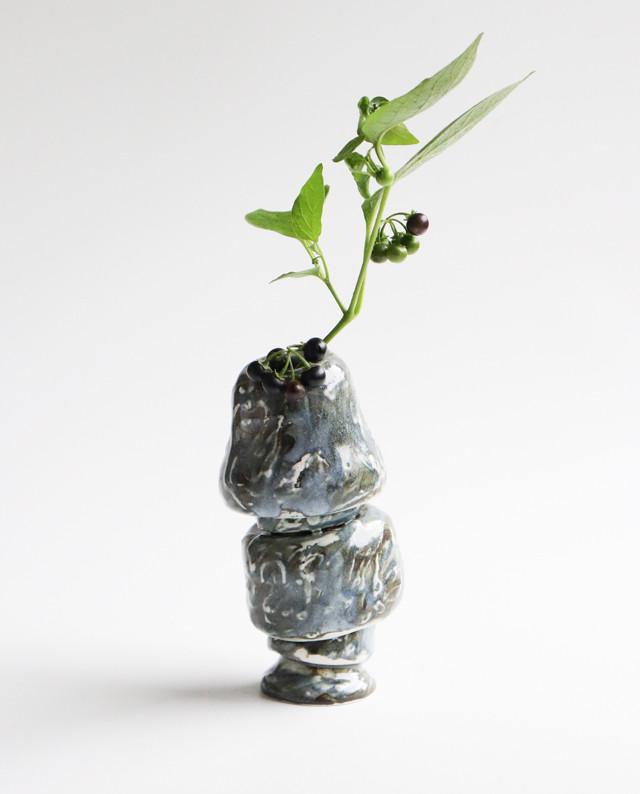 探検のフラワーベース 花瓶
