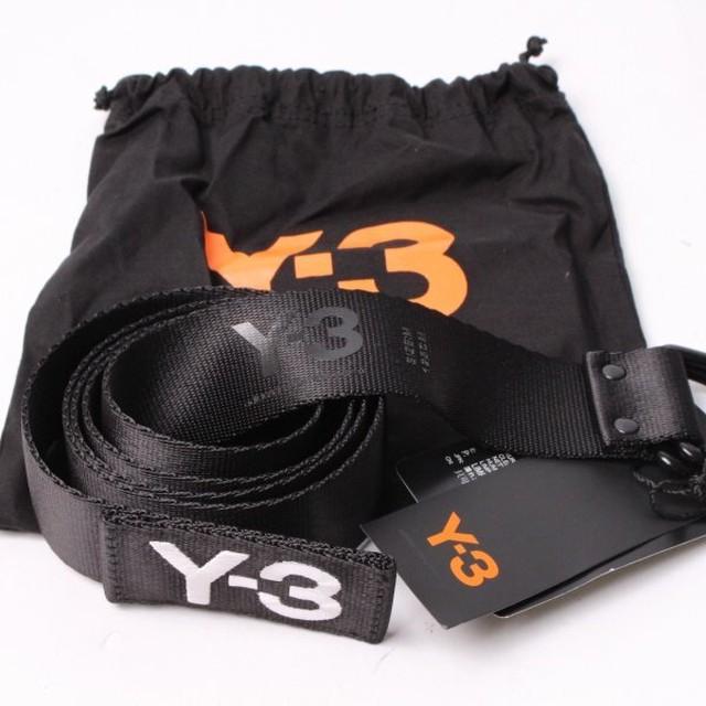 Y-3 ワイスリー ロゴベルト Black[全国送料無料] r011717