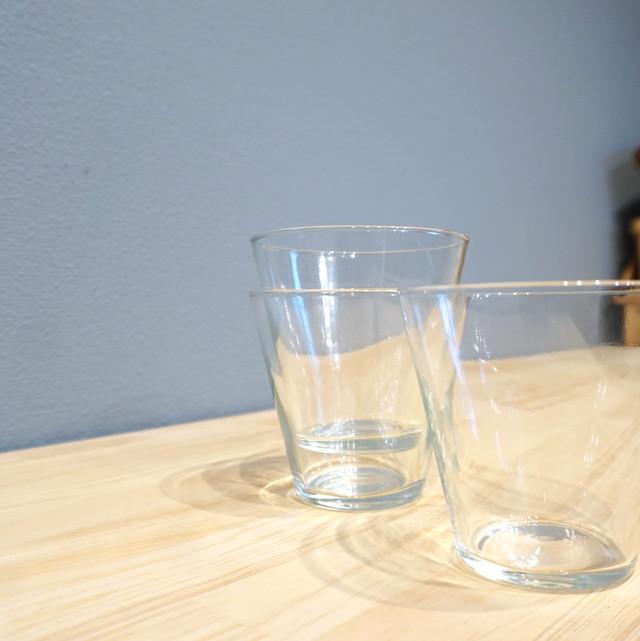 涼しげなガラスの器。リューズガラス TEA L