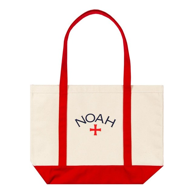 Two-Tone Core Logo Tote(Red)