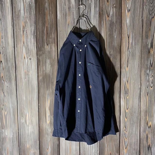 [TOMMY]one point darknavy  shirt