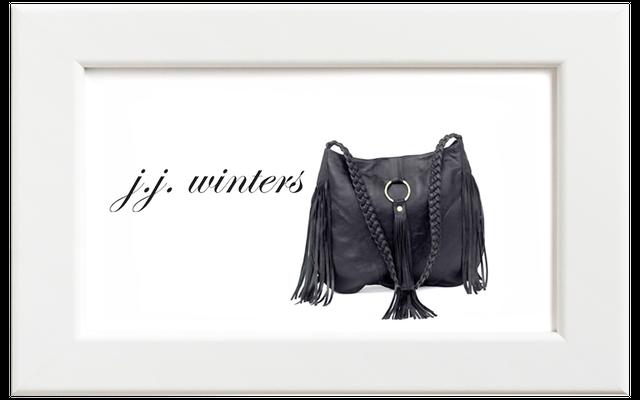 JJ winters/ジェイジェイ・ウィンターズ フリンジショルダーバッグ/ブラック