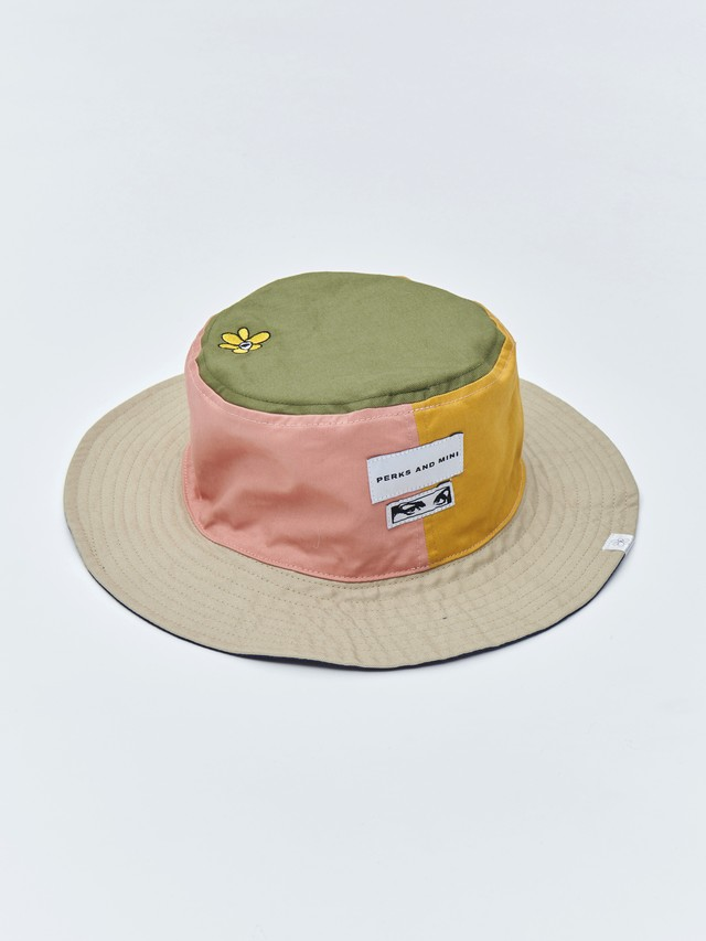P.A.M. (Perks And Mini) / NU/AGE REVERSIBLE BUCKET HAT