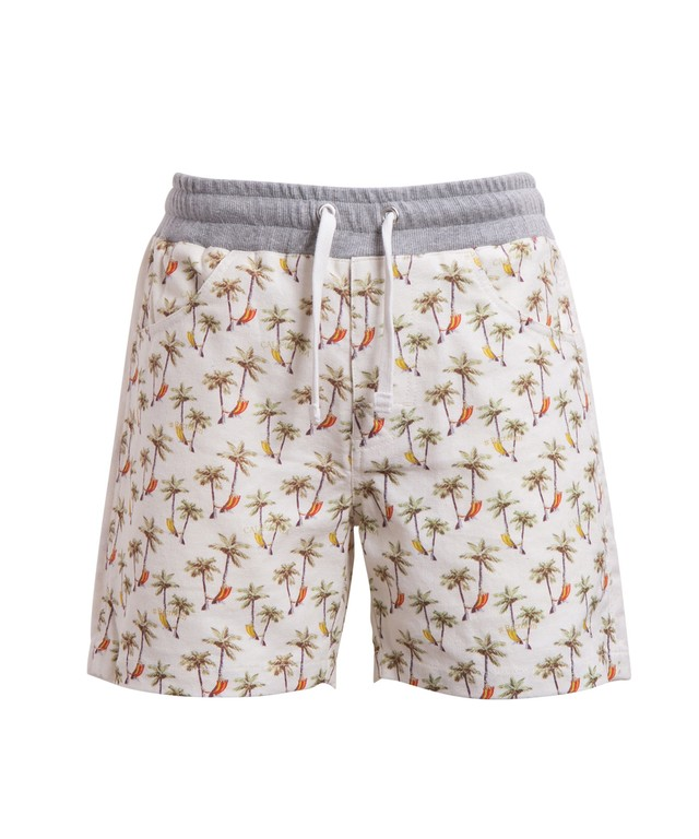 ORIGINAL PATTERN SIDE LINE LINEN SHORTS[REP051]
