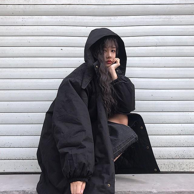 【アウター】無地カジュアル韓国系モッズコート25969544