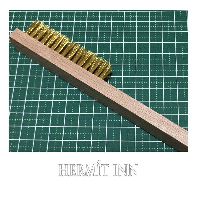 メタルミニチュア用真鍮ブラシ(ハーミット・セレクト) - メイン画像