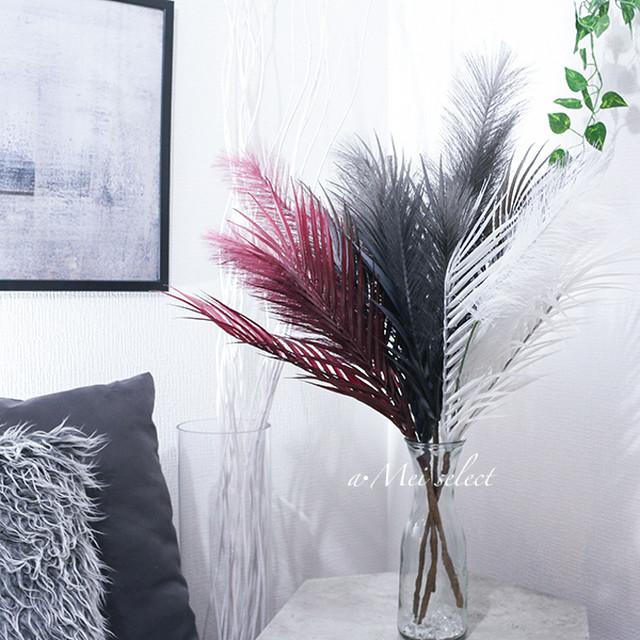 【フェイクグリーン】 68cm アーティフィシャルリーフ【全4色】  造花 グリーン 観葉植物 植物のある生活 イミテーション