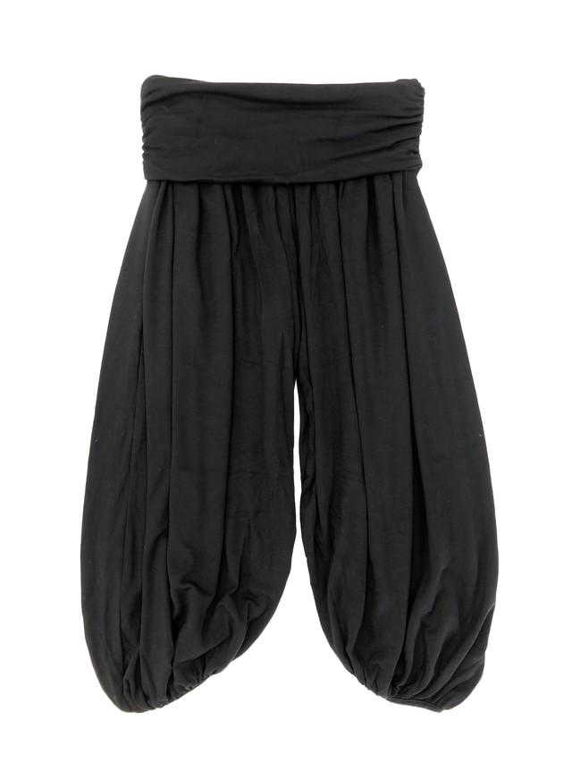 アラジンスタイルヨガパンツ ブラック/ブラック