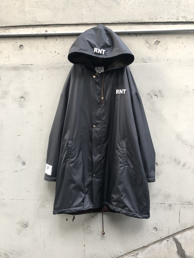 【RICE NINE TEN】RNT OVER COAT black