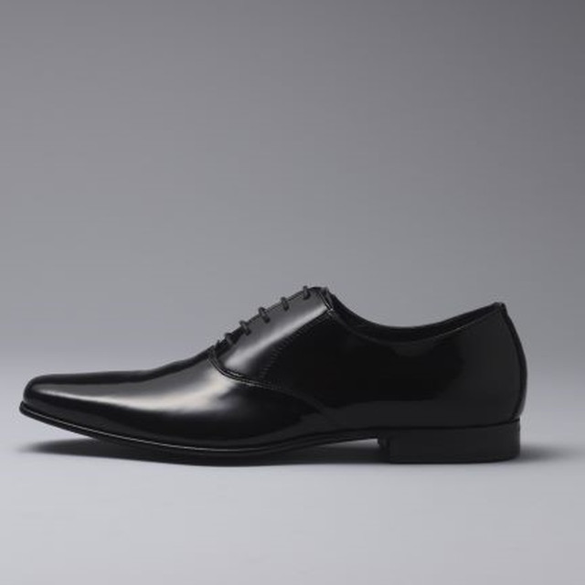 Men's / Patented Plane Toe / BK 【7127 BK】