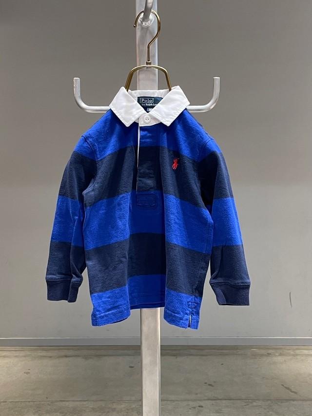 (KD217)90cm Polo Ralph Lauren rugby shirt