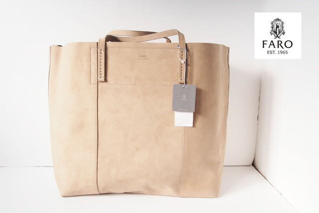 【Sold Out】フェリージ|Felisi|ナイロン×レザーパッカブルトートバッグ|9542/1-DS+NK|オリーブ×ブラウン