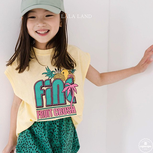 «sold out» LALA LAND fine sleeveless 2colors ファインノースリーブ