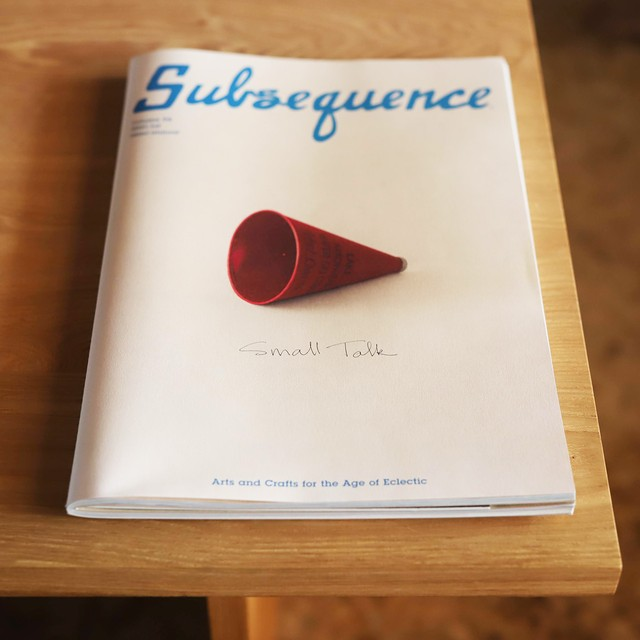 Subsequence Magazine Vol.4