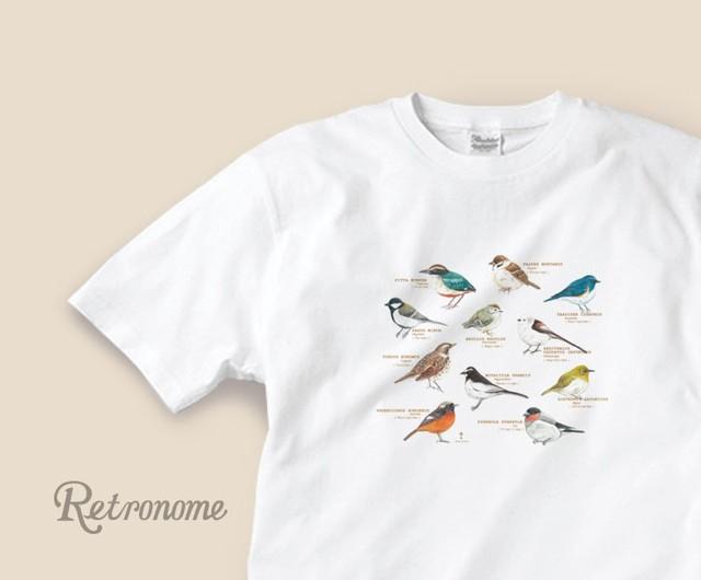 野鳥たちのTシャツ